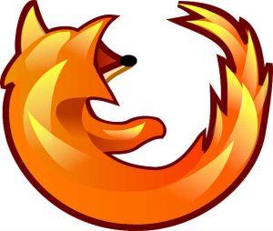 firefox logo, courtesy Pixabay